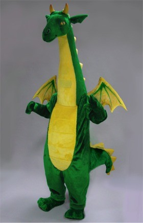 Fantasy Dragon Mascot Costume