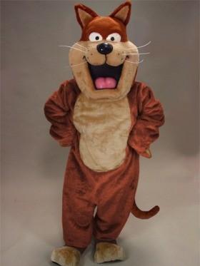 Fat Cat Mascot Costume