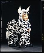 Fernando Cow Mascot Costume