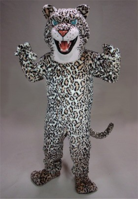 Fierce Leopard Mascot Costume