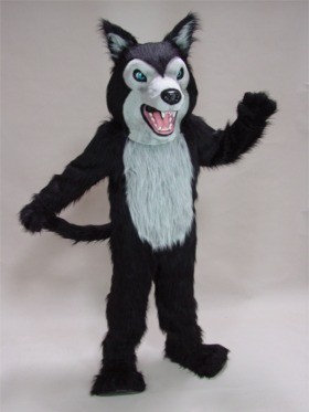 Fierce Wolf Mascot Costume