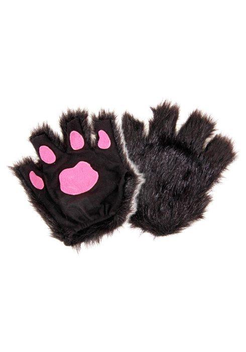 Fingerless Black Paws
