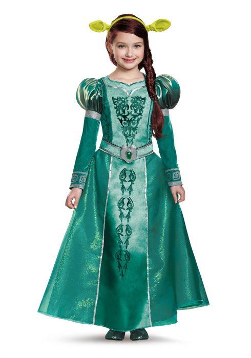 Fiona Girls Deluxe Costume