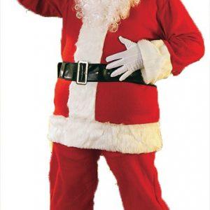 Flannel Santa Costume