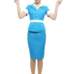 Flight Crew Plus Size Women's Costume