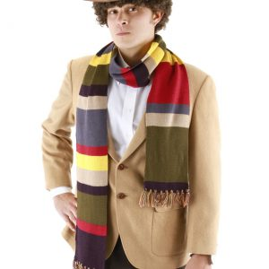 Fourth Doctor Who Short Scarf