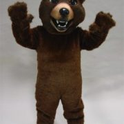Friendly Grizzly Mascot Costume
