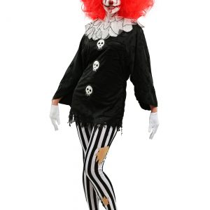 Frightful Clown Women's Costume