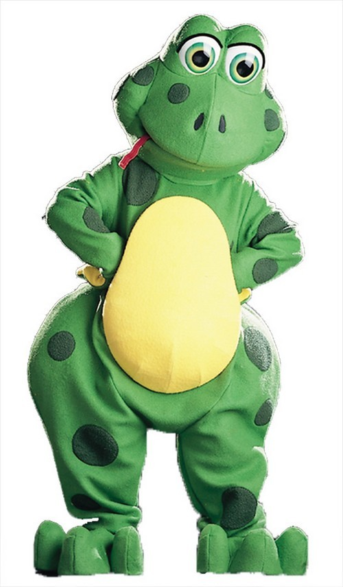 Froggles Frog Mascot Costume
