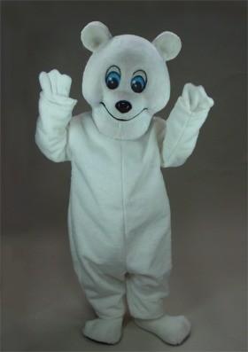 Frosty Polar Bear Mascot Costume