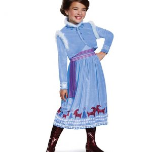 Frozen Anna Adventure Dress Deluxe Girls Costume
