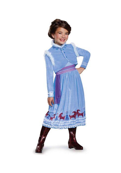 Frozen Anna Adventure Dress Deluxe Girls Costume
