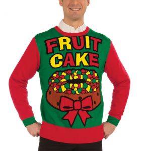 Fruit Cake Holiday Sweater
