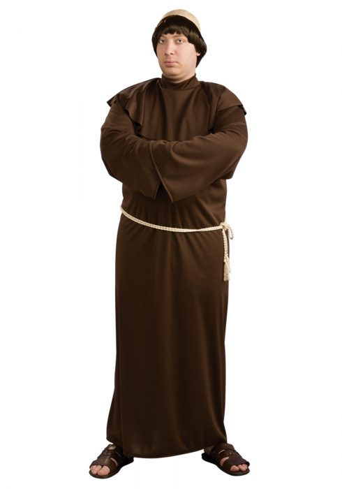 Full Figure Monk Costume