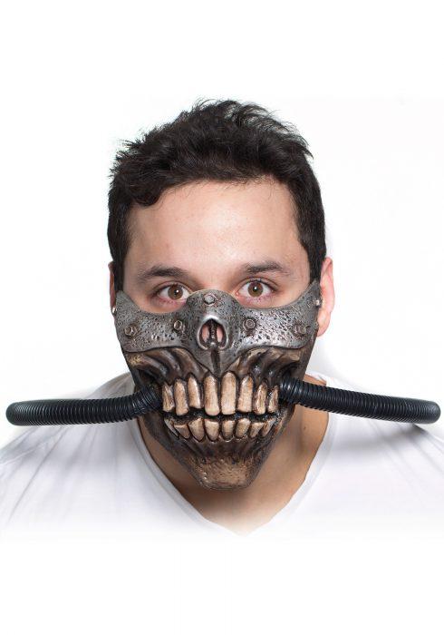 Fury in the Future Half Mask