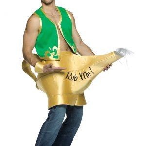 Genie and Magic Lamp Costume