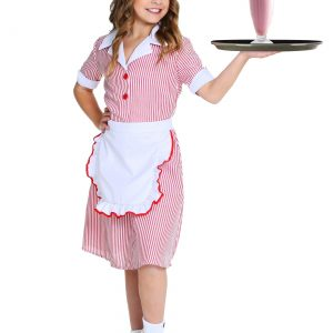 Girl's 50s Car Hop Costume