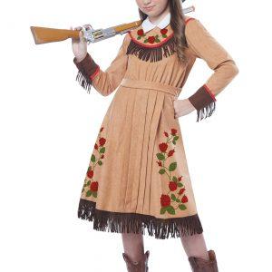 Girls Annie Oakley Costume