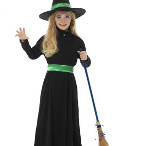 Girls Basic Witch Costume