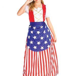 Girls Betsy Ross Costume