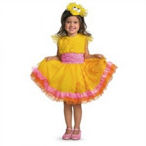 Girl's Big Bird Costume