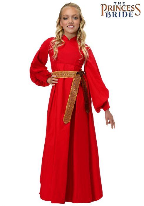 Girls Buttercup Peasant Dress Costume