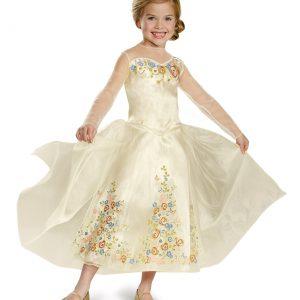 Girls Cinderella Movie Wedding Dress