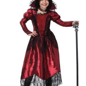 Girls Classic Vampire Costume