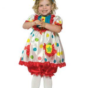 Girls Clown Costume