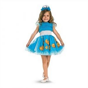 Girl's Cookie Monster Costume