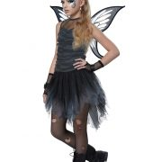 Girls Dark Fairy Costume