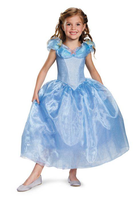 Girls Deluxe Cinderella Movie Costume