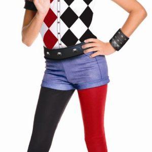 Girls Deluxe Harley Quinn Costume