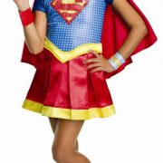 Girls Deluxe Supergirl Costume