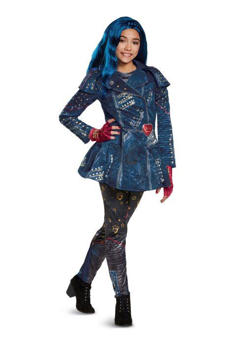 Girls Descendants 2 Evie Deluxe Costume