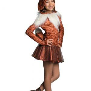 Girls Eevee Hoodie Dress