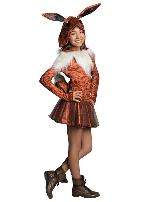 Girls Eevee Hoodie Dress