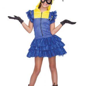 Girl's Evil Master Helper Costume