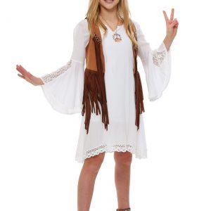 Girls Flower Child Costume