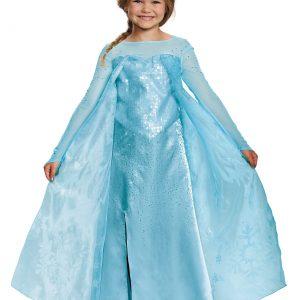 Girls Frozen Elsa Ultra Prestige Costume