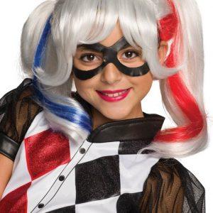 Girls Harley Quinn Wig