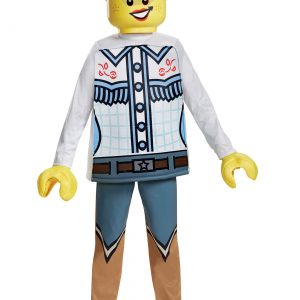 Girls Lego Cowgirl Deluxe Costume