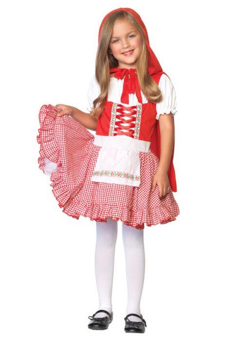 Girls Li'l Miss Red Riding Hood Costume