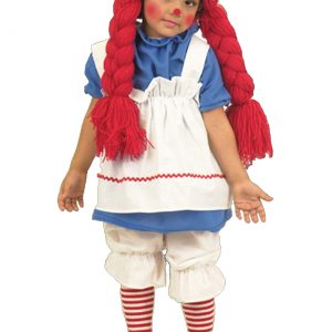 Girls Little Rag Doll Costume