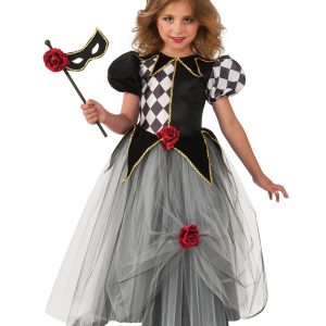 Girls Masquerade Princess Costume