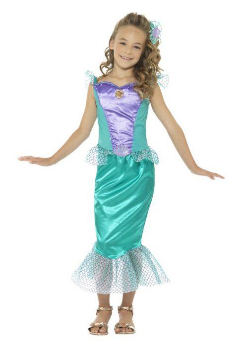 Girls Mermaid Costume