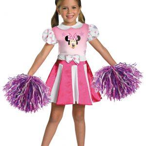 Girls Minnie Mouse Cheerleader Costume