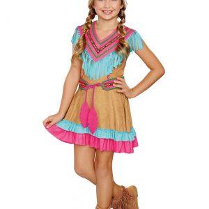 Girls Native Beauty Costume