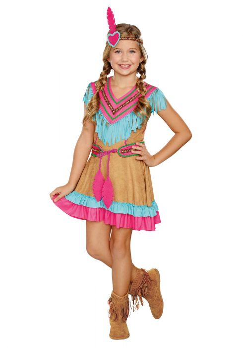 Girls Native Beauty Costume