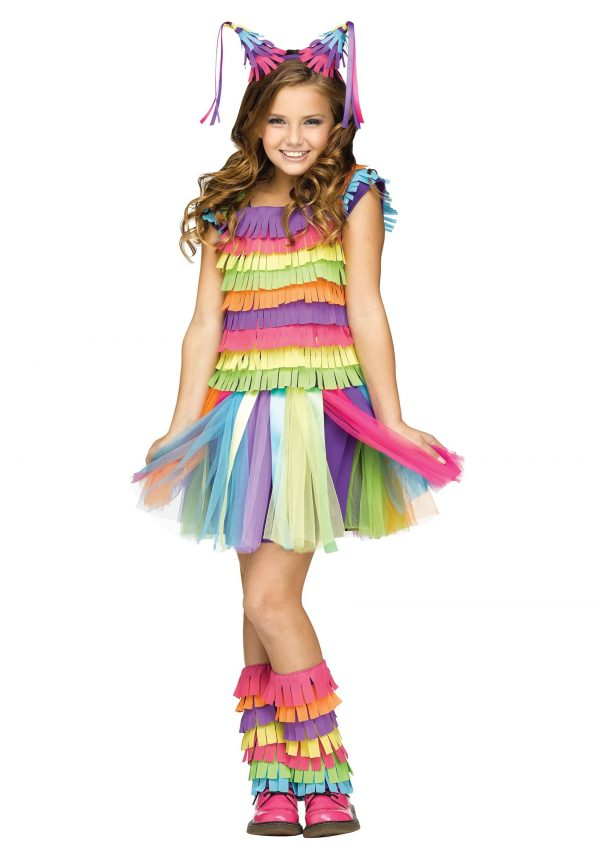 Girl's Pinata Costume